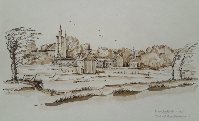 Blick auf Burg Klempenow V